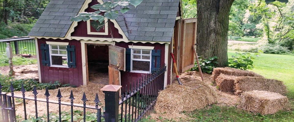 how to build a cheap pig pen