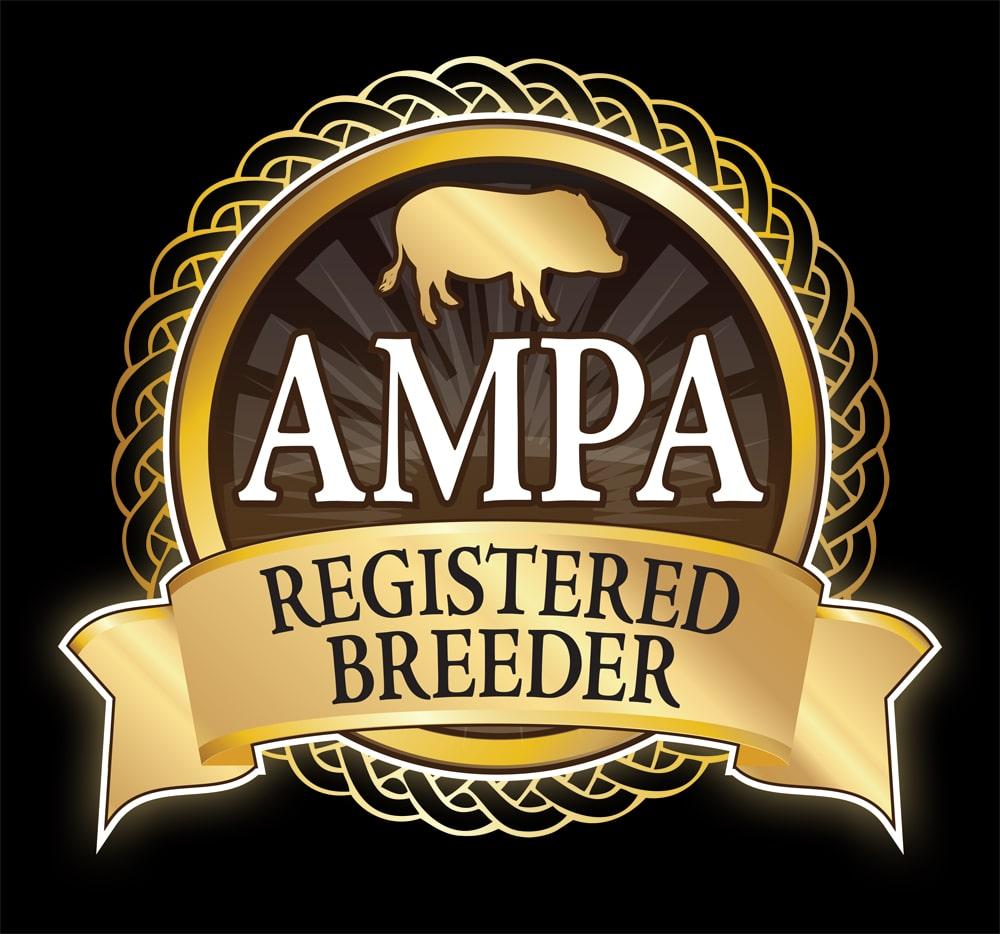 Registered Breeder Square Black Background