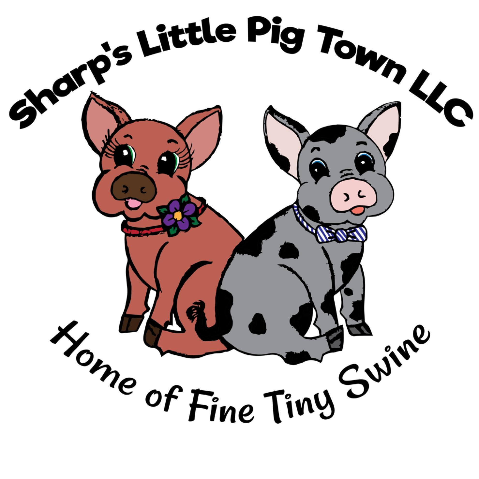 sharp's little pig town