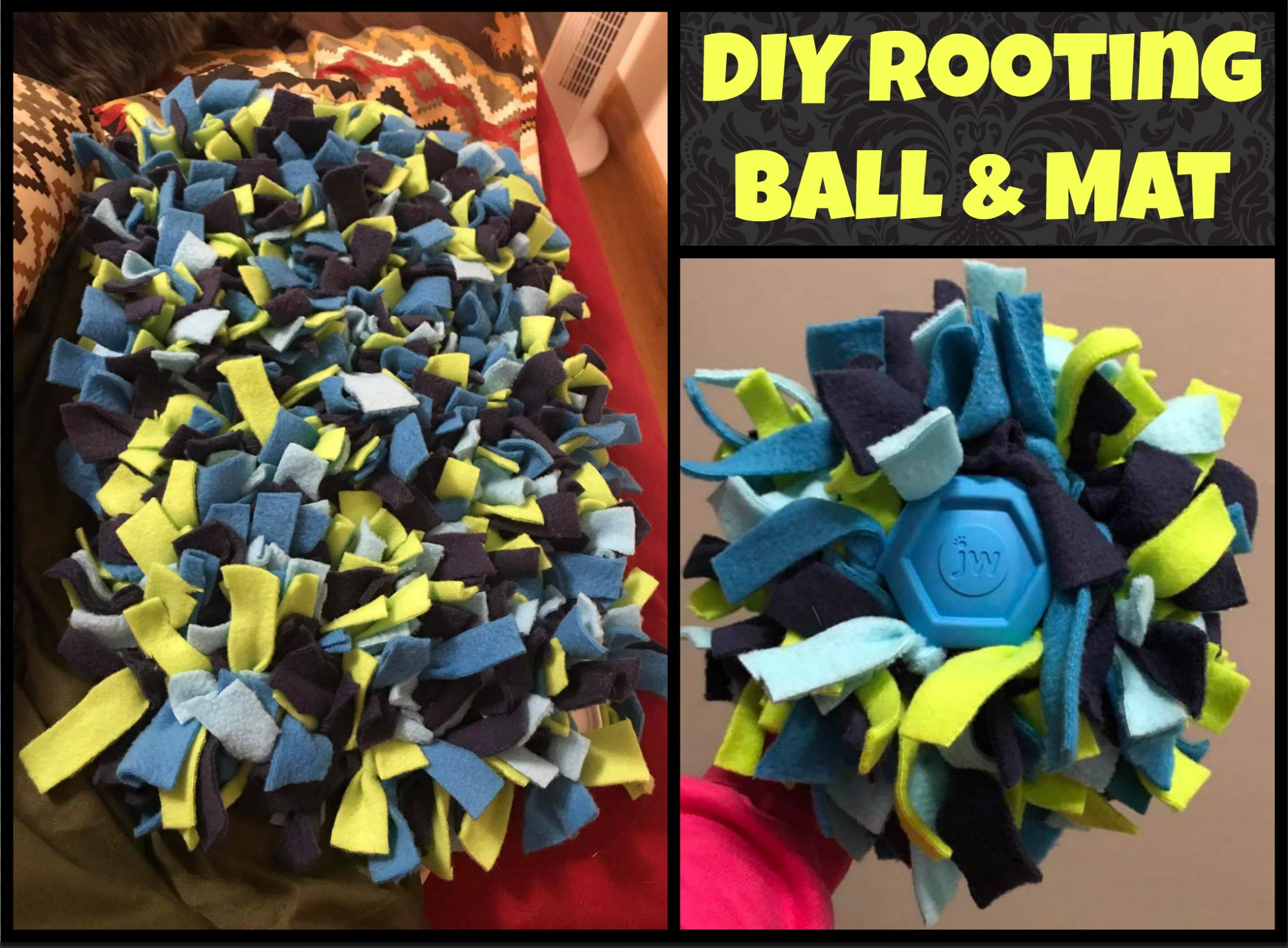 DIY rooting mat