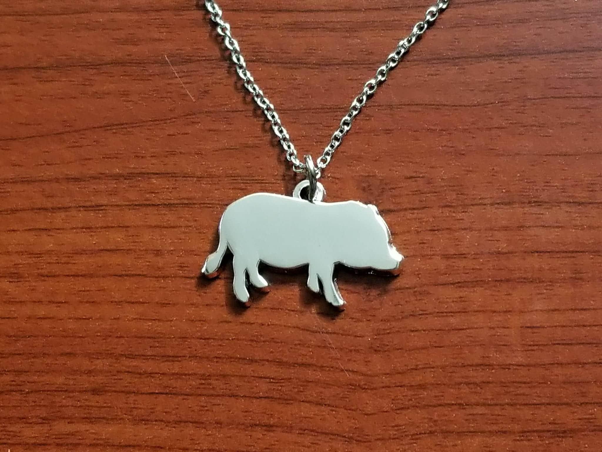 mini pig jewelry