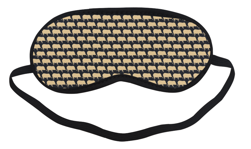 pig sleep mask